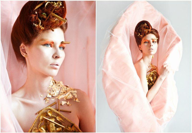 Fashion фешн макияж мартынова atelier