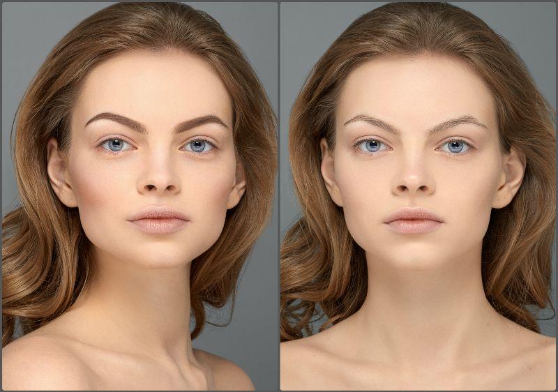 появился изменение фото цвет глаз волос ресниц лица стиляги